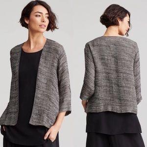 Eileen Fisher Organic Linen Gauze Strata Kimono